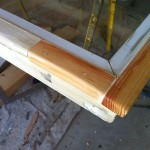 Before - Lower Sash Restoration