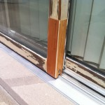 Before - Sliding Door Restoration